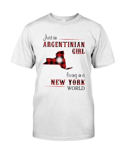 ARGENTINIAN GIRL LIVING IN NEW YORK WORLD