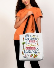 SOUTH AFRICAN GIRLS SUNSHINE MIXED HURRICANE All-over Tote aos-all-over-tote-lifestyle-front-06
