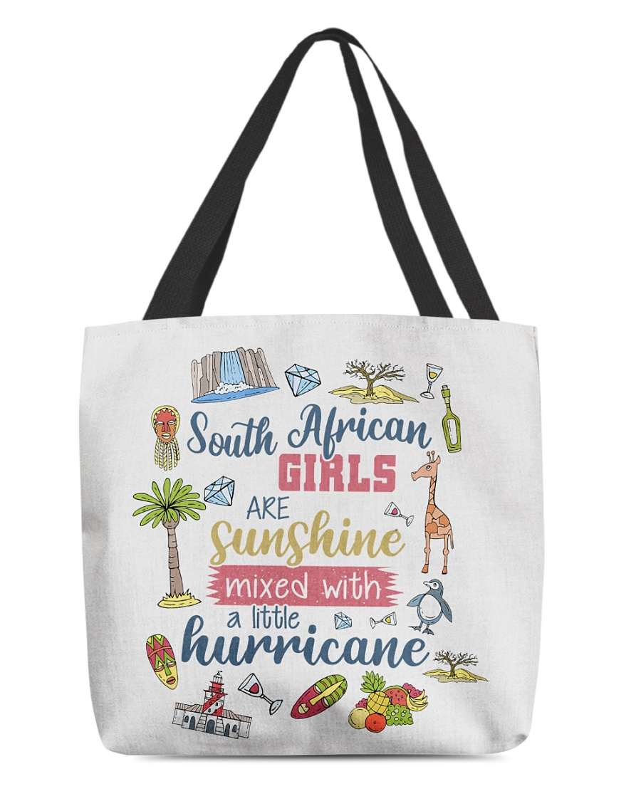 SOUTH AFRICAN GIRLS SUNSHINE MIXED HURRICANE All-over Tote