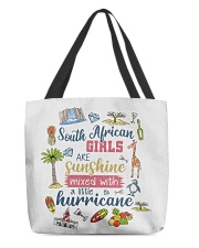 SOUTH AFRICAN GIRLS SUNSHINE MIXED HURRICANE All-over Tote front