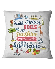 SOUTH AFRICAN GIRLS SUNSHINE MIXED HURRICANE Square Pillowcase thumbnail