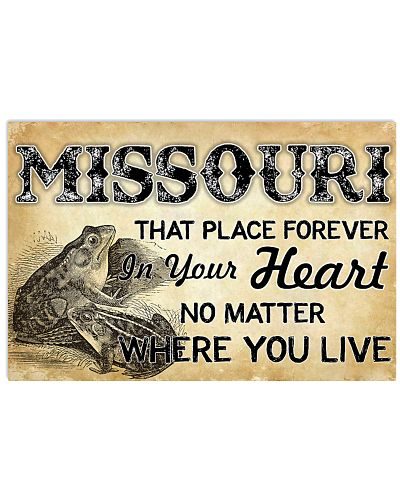 MISSOURI THAT PLACE FOREVER IN YOUR HEART