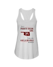 PUERTO RICAN GIRL LIVING IN OKLAHOMA WORLD Ladies Flowy Tank thumbnail