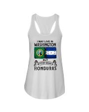LIVE IN WASHINGTON BEGAN IN HONDURAS Ladies Flowy Tank thumbnail