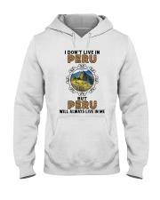 PERU WILL ALWAYS LIVE IN ME Hooded Sweatshirt thumbnail