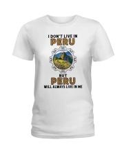 PERU WILL ALWAYS LIVE IN ME Ladies T-Shirt thumbnail