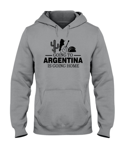 GOING TO ARGENTINA IS GOING HOME