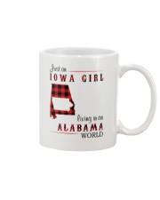 IOWA GIRL LIVING IN ALABAMA WORLD Mug thumbnail