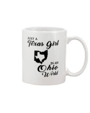 JUST A TEXAS GIRL IN AN OHIO WORLD Mug thumbnail