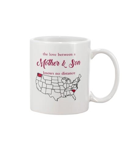 SOUTH CAROLINA WASHINGTON THE LOVE MOTHER AND SON
