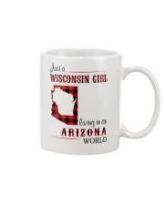 WISCONSIN GIRL LIVING IN ARIZONA WORLD Mug thumbnail