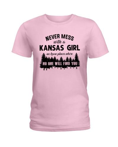 NEVER MESS WITH A KANSAS GIRL