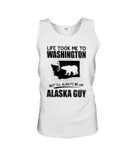 ALASKA GUY LIFE TOOK TO WASHINGTON Unisex Tank thumbnail