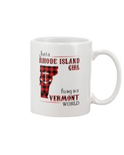 RHODE ISLAND GIRL LIVING IN VERMONT WORLD Mug thumbnail