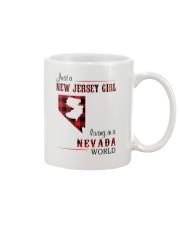 JERSEY GIRL LIVING IN NEVADA WORLD Mug thumbnail