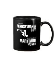 JUST A PENNSYLVANIA GUY LIVING IN MARYLAND WORLD Mug thumbnail
