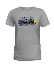 MADE IN PENNSYLVANIA A LONG LONG TIME AGO Ladies T-Shirt thumbnail