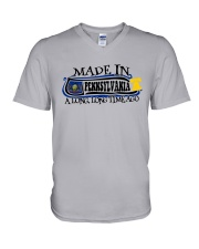 MADE IN PENNSYLVANIA A LONG LONG TIME AGO V-Neck T-Shirt thumbnail