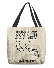 FLORIDA CALIFORNIA THE LOVE MOM AND SON All-over Tote thumbnail