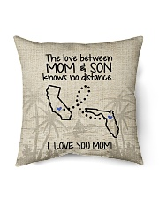 "FLORIDA CALIFORNIA THE LOVE MOM AND SON Indoor Pillow - 16"" x 16"" back"