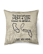 "FLORIDA CALIFORNIA THE LOVE MOM AND SON Indoor Pillow - 16"" x 16"" front"