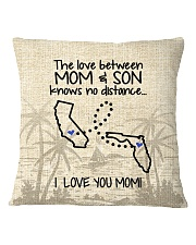 FLORIDA CALIFORNIA THE LOVE MOM AND SON Square Pillowcase thumbnail