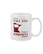 IOWA GIRL LIVING IN MINNESOTA WORLD Mug thumbnail