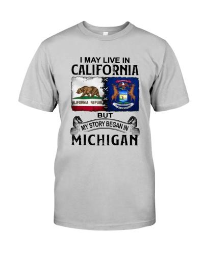 LIVE IN CALIFORNIA BEGAN IN MICHIGAN