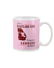 MARYLAND GIRL LIVING IN GEORGIA WORLD Mug thumbnail