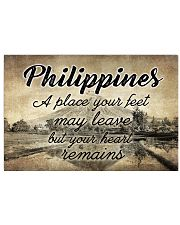 PHILIPPINES A PLACE YOUR HEART REMAINS 24x16 Poster front