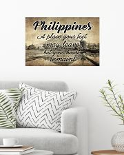 PHILIPPINES A PLACE YOUR HEART REMAINS 24x16 Poster poster-landscape-24x16-lifestyle-01