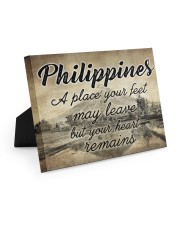 PHILIPPINES A PLACE YOUR HEART REMAINS 10x8 Easel-Back Gallery Wrapped Canvas thumbnail
