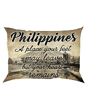PHILIPPINES A PLACE YOUR HEART REMAINS Rectangular Pillowcase thumbnail