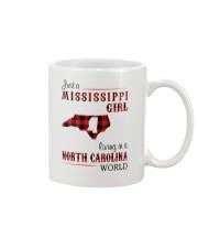 MISSISSIPPI GIRL LIVING IN NORTH CAROLINA WORLD Mug thumbnail