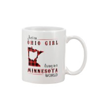 OHIO GIRL LIVING IN MINNESOTA WORLD Mug thumbnail