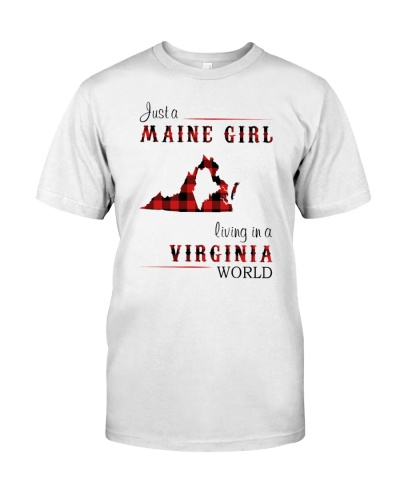 MAINE GIRL LIVING IN VIRGINIA WORLD