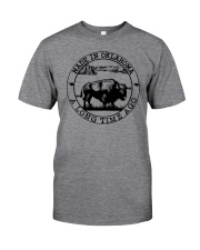 MADE IN OKLAHOMA A LONG TIME AGO Classic T-Shirt front