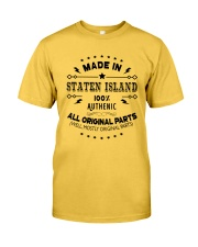 MADE IN STATEN ISLAND  Classic T-Shirt front