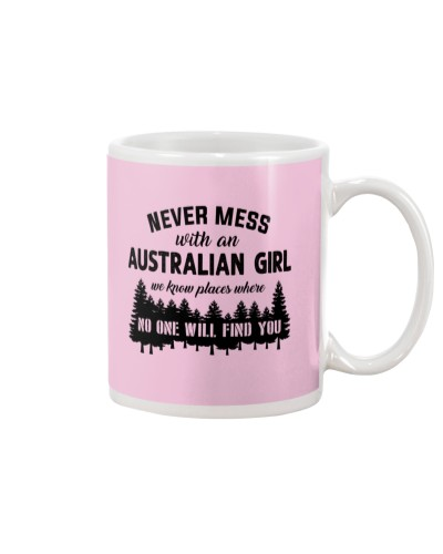 NEVER MESS WITH A AUSTRALIAN GIRL