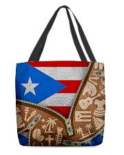 PUERTO RICO TEXTURE FLAG SYMBOLS All-over Tote back