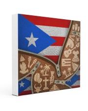 PUERTO RICO TEXTURE FLAG SYMBOLS 16x16 Gallery Wrapped Canvas Prints thumbnail