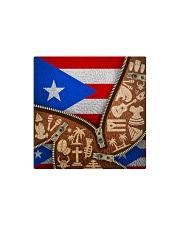 PUERTO RICO TEXTURE FLAG SYMBOLS Square Magnet thumbnail