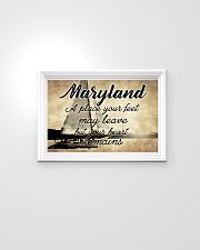 MARYLAND YOUR HEART REMAINS 24x16 Poster poster-landscape-24x16-lifestyle-02