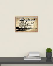 MARYLAND YOUR HEART REMAINS 24x16 Poster poster-landscape-24x16-lifestyle-09