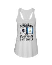 LIVE IN MASSACHUSETTS BEGAN IN GUATEMALA Ladies Flowy Tank thumbnail
