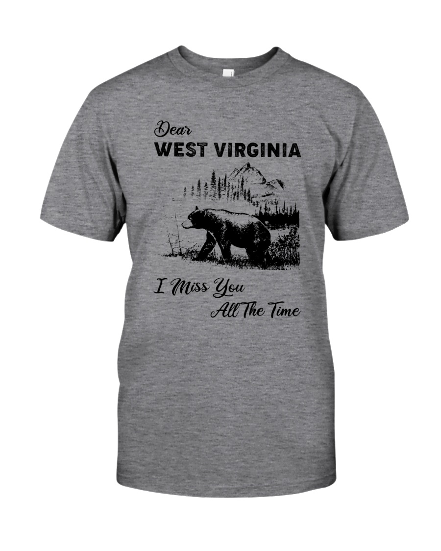 WEST VIRGINIA  I MISS YOU ALL THE TIME Classic T-Shirt