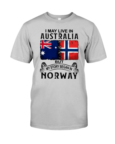 LIVE IN AUSTRALIA BEGAN IN NORWAY