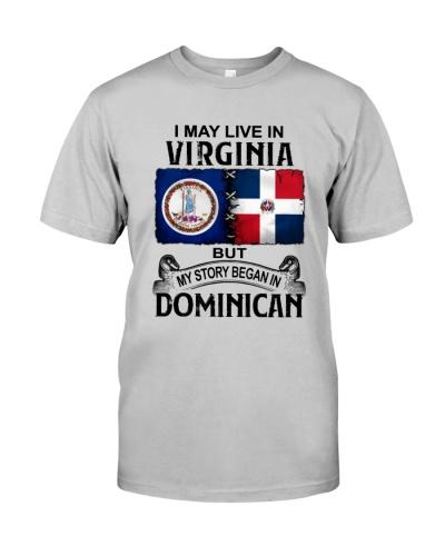 LIVE IN VIRGINIA BEGAN IN DOMINICAN