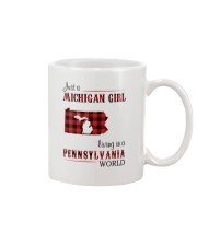 MICHIGAN GIRL LIVING IN PENNSYLVANIA WORLD Mug thumbnail
