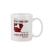 NEW YORK GIRL LIVING IN ARKANSAS WORLD Mug thumbnail